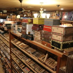 Shot of the humidor