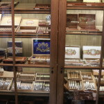 My Father display and 1 of 3 humidors