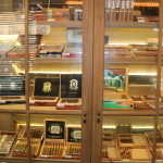 A second smaller humidor located outside main humidor