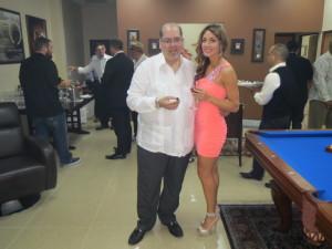 Luis Falto and Delicia