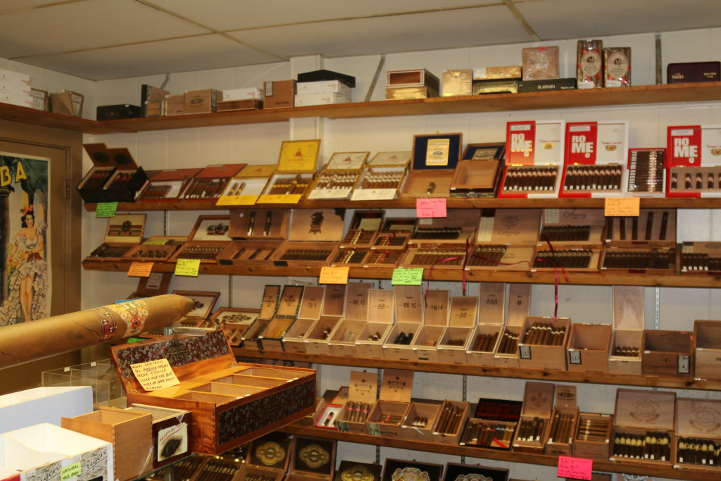 More of the humidor