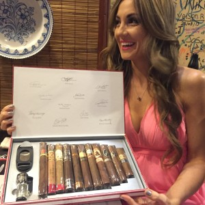 Goodie box of cigars